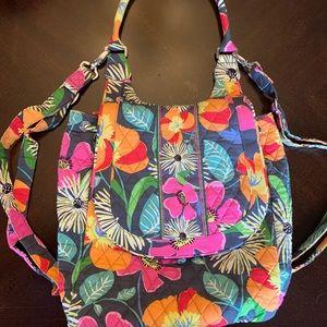 Vera Bradley  Jazzy Blooms Backpack Tote
